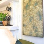 Create A Fabulous Chippy Stenciled Finish On Canvas Using Artisan Enhancements Products!