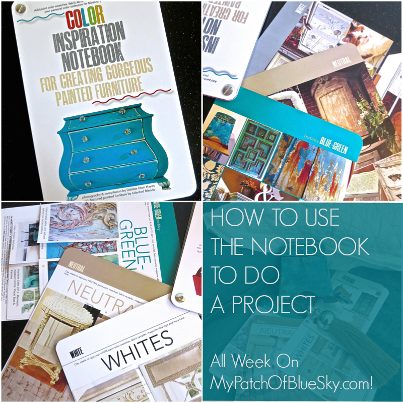 How to use the Color Inspiration Notebook