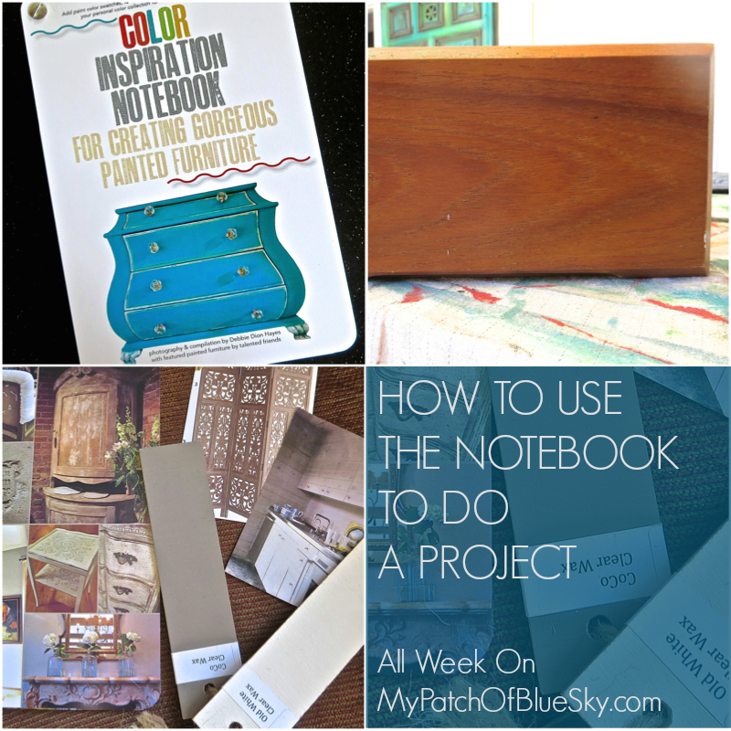 How to use your Color Inspiration Notebook for a project