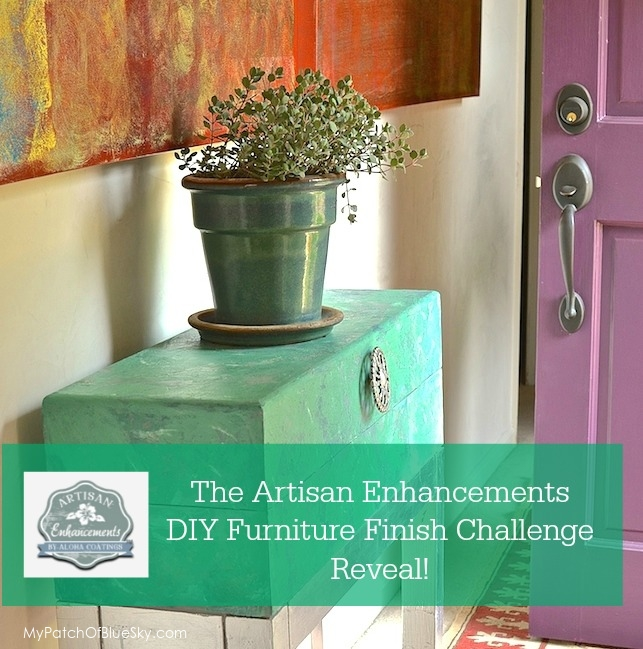 My Artisan Enhancements DIY Furniture Finish Challenge Project Revealed!