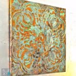 Make Rusty, Patinated Wall Art Magic Using Modern Masters Metal Effects!