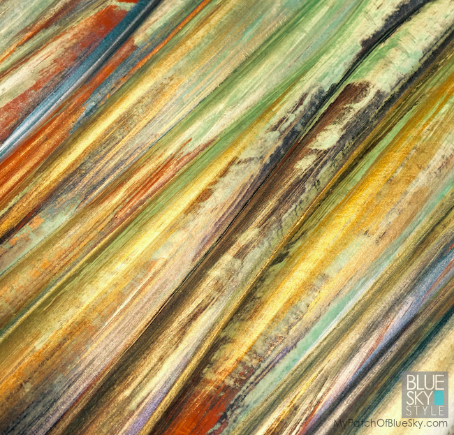 The Art Ladies create patterned, textured artwork with Modern Masters Metal Effects.