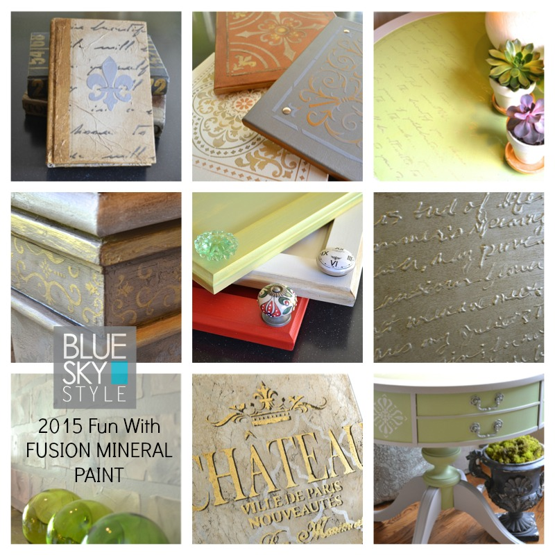 Fusion Mineral Paint 2015 projects