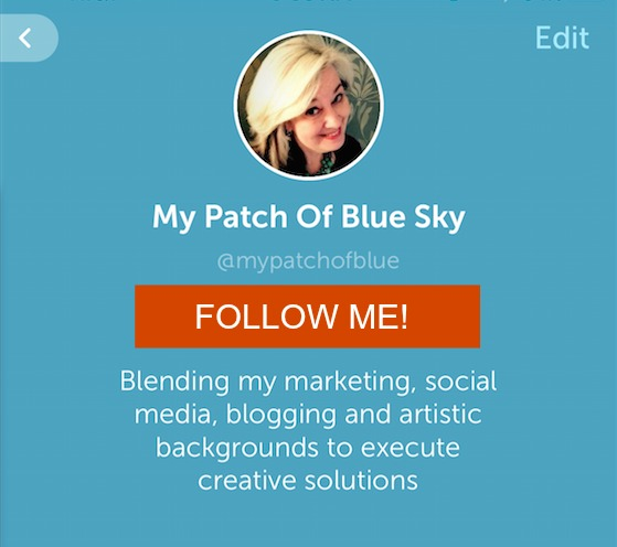Follow me on Periscope