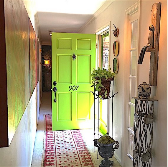 Fortunate color Modern Masters Front Door Paint