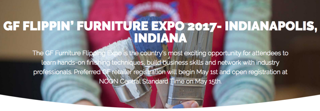Join the Furniture Flippin' Expo in Indianapolis!