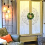 How To Use A Royal Design Studio Medallion Stencil On A Large Cabinet
