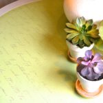Upcycle An Old Table Using Paint, Stenciling, And Texture