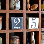 How To Make And Stencil A Wooden Perpetual Desk Calendar