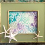 How To Use A Royal Design Studio Stencil To Create Watercolor Art