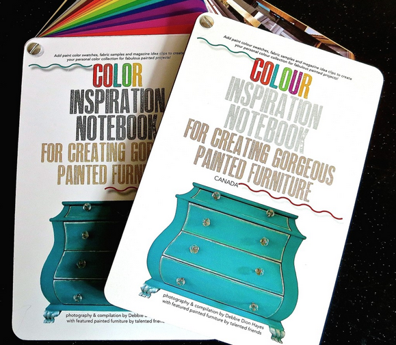 My Patch Of Blue Sky | Color Inspiration Notebook for Creating Gorgeous Painted Furniture by Debbie Dion Hayes