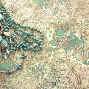 Elegant Texture art on canvas by Debbie Dion Hayes