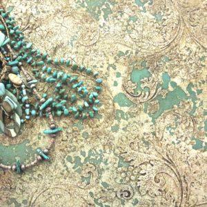 Elegant Texture art on canvas by Debbie Dion Hayes