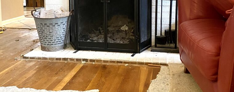 Four steps to removing carpet from on top of hardwoods.